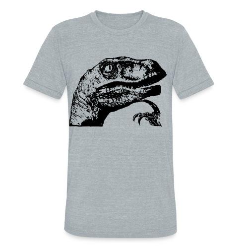 PHILOSORAPTOR VINTAGE AA TEE - Unisex Tri-Blend T-Shirt