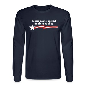 Republicans United Against Reality - Men's Long Sleeve T-Shirt