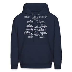 Evolution of Creationism - Men's Hoodie