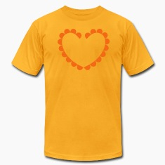 love heart cameo oval shape T-Shirts