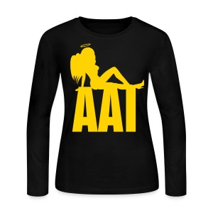 Angel Resting on AAI LS Tee - Women's Long Sleeve Jersey T-Shirt