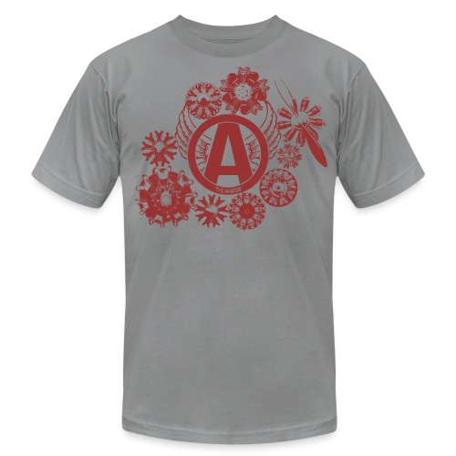 enginesavatardesignred - Men's T-Shirt by American Apparel
