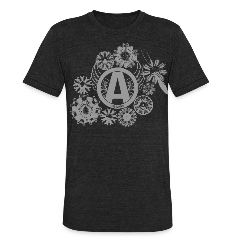 enginesavatardesigngray - Unisex Tri-Blend T-Shirt by American Apparel