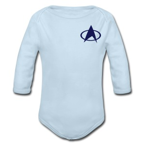 Federation - Long Sleeve Baby Bodysuit