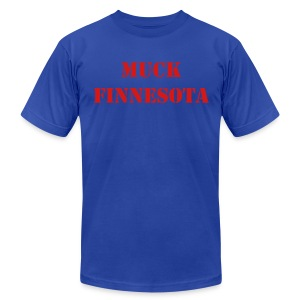 Muck Finnesota - Men's T-Shirt by American Apparel
