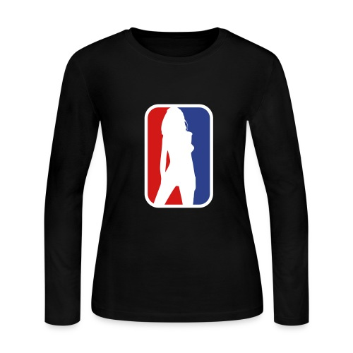 women nba - Women's Long Sleeve Jersey T-Shirt