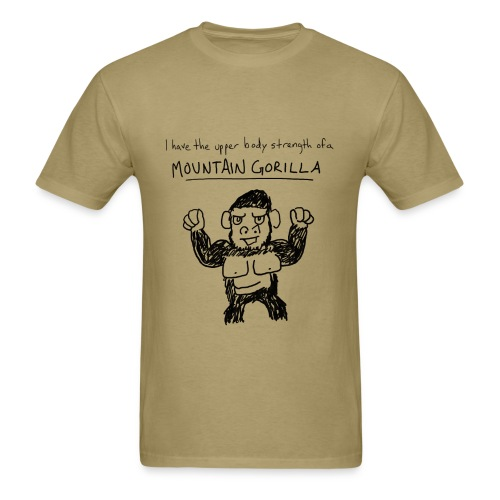 Marching Lessons - Mountain Gorilla - Men's T-Shirt