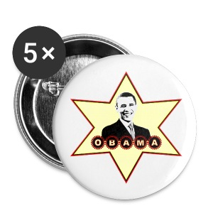 Barack Obama Buttons - Large Buttons