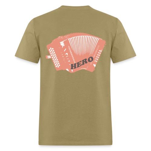 Accordion Hero - Men's T-Shirt