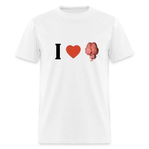 I Love Brain - Men's T-Shirt