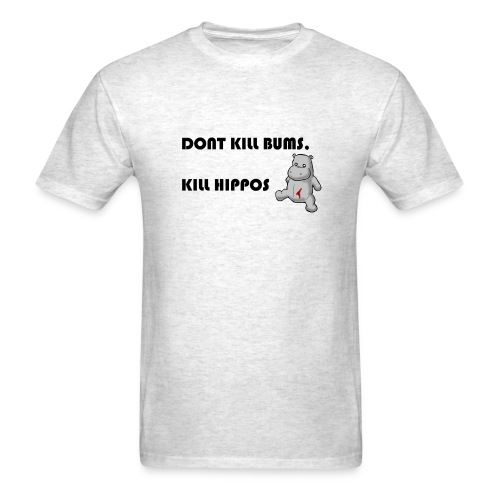 Not bums, hippo's! - Men's T-Shirt