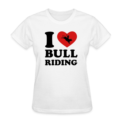 Bull Riding - Women's T-Shirt