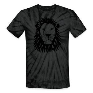 animal t-shirt lion tiger cat king animal kingdom africa predator simba strong hunter safari wild wildcat bobcat panther cougar - Unisex Tie Dye T-Shirt
