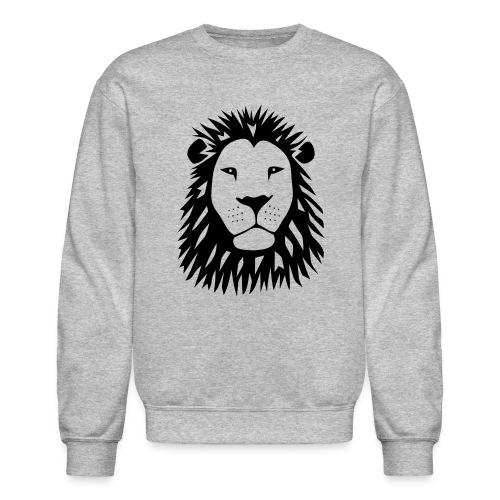 animal t-shirt lion tiger cat king animal kingdom africa predator simba strong hunter safari wild wildcat bobcat panther cougar - Crewneck Sweatshirt