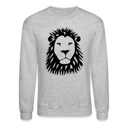animal t-shirt lion tiger cat king animal kingdom africa predator simba strong hunter safari wild wildcat bobcat panther cougar - Crewneck Sweatshirt