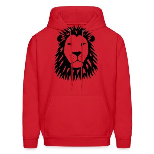 animal t-shirt lion tiger cat king animal kingdom africa predator simba strong hunter safari wild wildcat bobcat panther cougar - Men's Hoodie