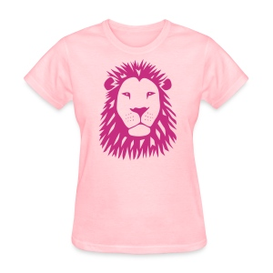 animal t-shirt lion tiger cat king animal kingdom africa predator simba strong hunter safari wild wildcat bobcat panther cougar - Women's T-Shirt