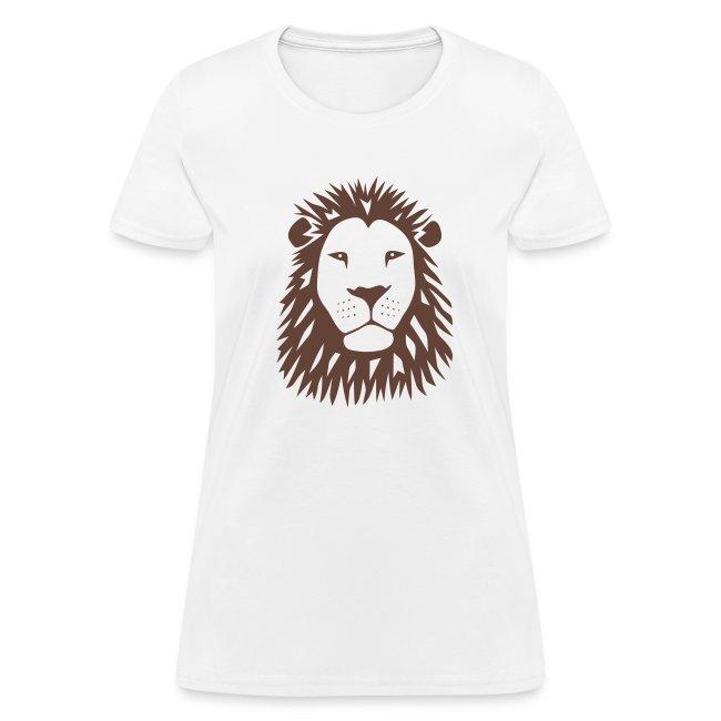 animal t-shirt lion tiger cat king animal kingdom africa predator simba strong hunter safari wild wildcat bobcat panther cougar