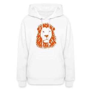 animal t-shirt lion tiger cat king animal kingdom africa predator simba strong hunter safari wild wildcat bobcat panther cougar - Women's Hoodie