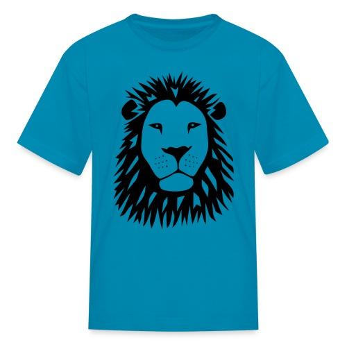 animal t-shirt lion tiger cat king animal kingdom africa predator simba strong hunter safari wild wildcat bobcat panther cougar - Kids' T-Shirt