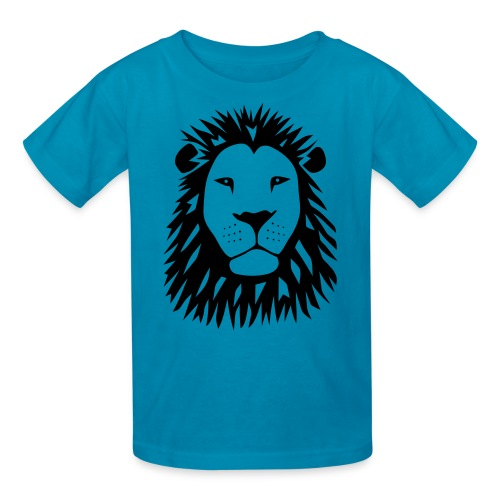 animal t-shirt lion tiger cat king animal kingdom africa predator simba strong hunter safari wild wildcat bobcat panther cougar - Kids' T-Shirt
