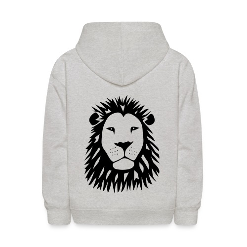 animal t-shirt lion tiger cat king animal kingdom africa predator simba strong hunter safari wild wildcat bobcat panther cougar - Kids' Hoodie