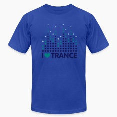 I Love Trance Men's T-shirts
