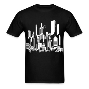 Cityscape #47 - Men's T-Shirt