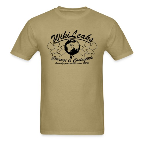 Retro WikiLeaks since 2006 - Men's T-Shirt