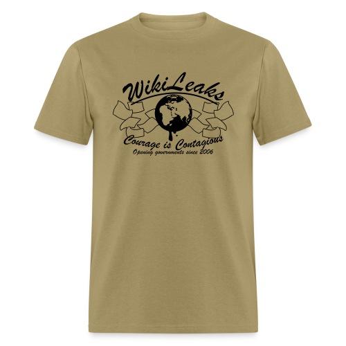 Retro WikiLeaks since 2006 - Men's T-Shirt