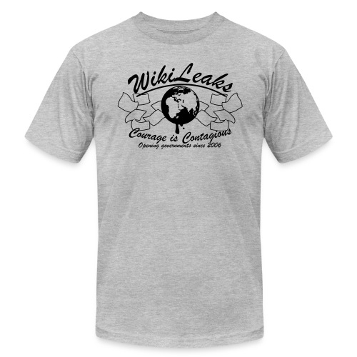 Retro WikiLeaks since 2006 - Men's Jersey T-Shirt