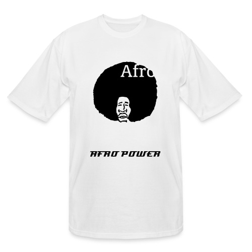 Afro Power Production - Men's Tall T-Shirt