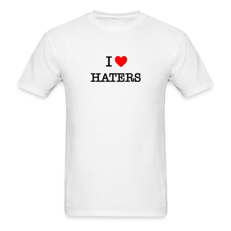 I Heart Haters - Men's T-Shirt