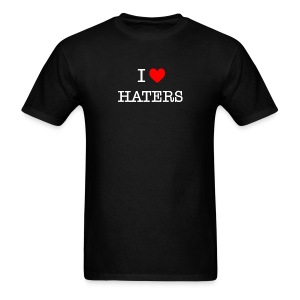 I Heart Haters (White) - Men's T-Shirt