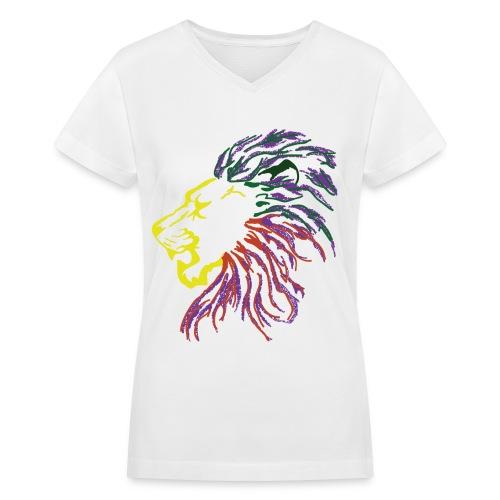 Anbesit  - Women's V-Neck T-Shirt