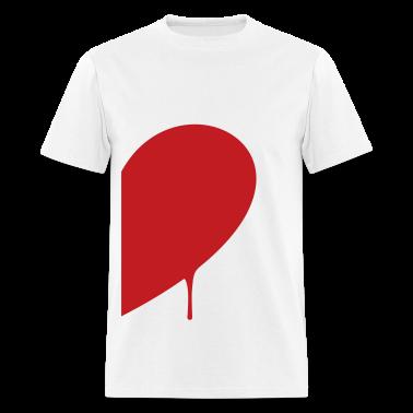 half heart man T-Shirts