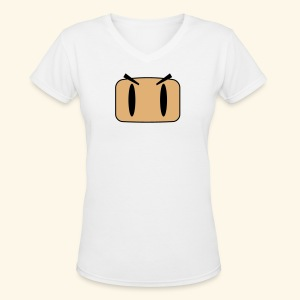B-Face (free shirt color selection) - Women's V-Neck T-Shirt