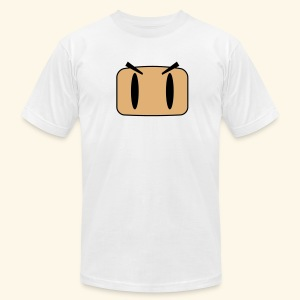 B-Face (free shirt color selection) - Men's T-Shirt by American Apparel