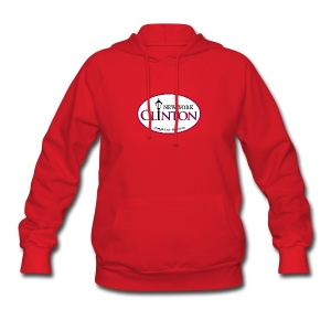 Clinton, New York Women's Hooded Sweatshirt - Women's Hoodie
