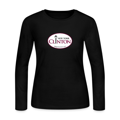 Clinton, New York Women's Long Sleeve - Women's Long Sleeve Jersey T-Shirt
