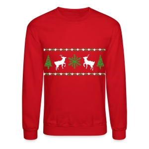 Ugly Christmas Sweater Sweatshirt - Crewneck Sweatshirt