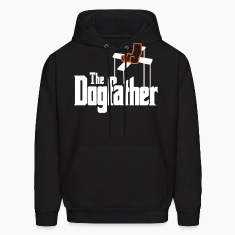 The Dogfather! Hoodies