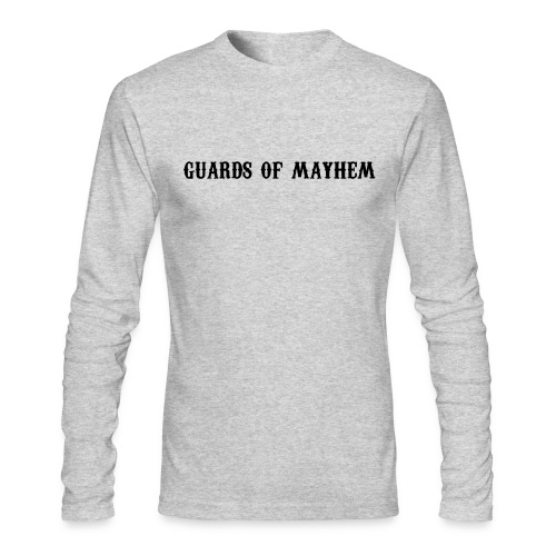 Guards of Mayhem Grey Long Sleeve - Men's Long Sleeve T-Shirt by Next Level