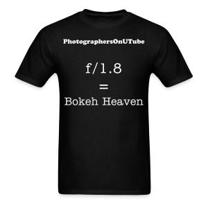 f/1.8 = Bokeh Heaven - Men's T-Shirt