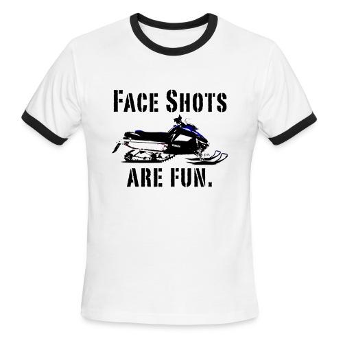 Face Shots - Men's Ringer T-Shirt
