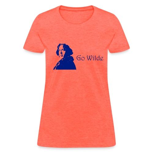 Go Wilde (Womens) - Women's T-Shirt