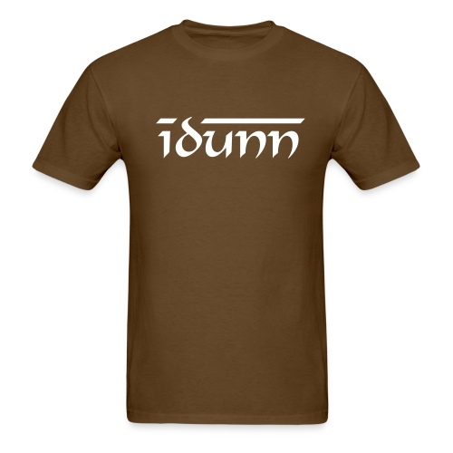 Idunn white line0102 - Men's T-Shirt