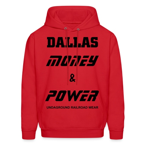 Dallas Money Power Hoodie - Men's Hoodie