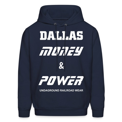 Dallas Money & Power Hoodie - Men's Hoodie