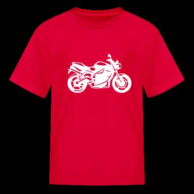 Motorcycle Kids' Shirts